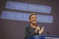Margrethe Vestager, EU-Kommissarin für Digitale Wirtschaft und Gesellschaft stellte den digitalen Identitätsnachweis vor.