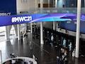 Aktuelle Innenaufnahme der Messe in Barcelona während der Vorbereitung zum Mobile World Congress (MWC) 2021. Nun hat auch die Deutsche Telekom als Aussteller abgesagt.