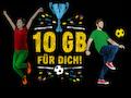 Congstar verschenkt einmalig 10 GB Datenvolumen zur UEFA Euro 2020.