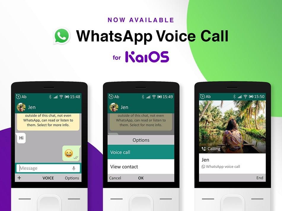 KaiOS jetzt mit WhatsApp-Anrufen, E2EE macht Fortschritte
