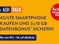 Datenbonus für Kauf eines neuen Smartphones