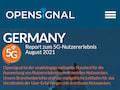 Das Netzanalyse-Unternehmen Opensignal hat einen Bericht vorgelegt, der sich mit der Netzqualität von Mobilfunknetzen nach 4G/5G Standard in Deutschland beschäftigt