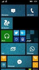 Homescreen unter Windows Phone 8.1