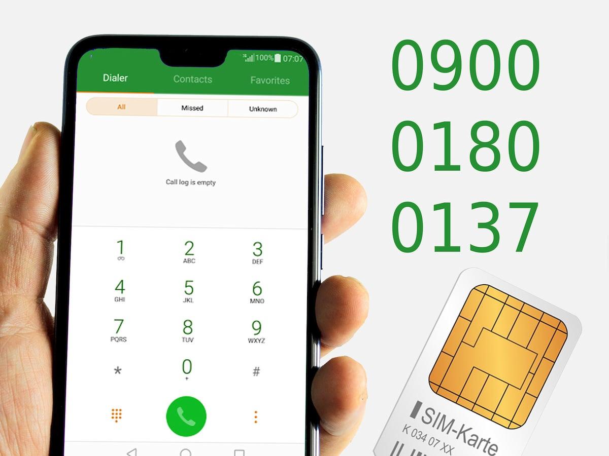 Prepaid Karte Mit Handy.Prepaid Sonderrufnummern Aus Dem Mobilfunknetz Teltarif De Ratgeber