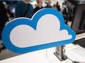 Die Wolke ist das Symbol für Cloud-Speicher-Dienste