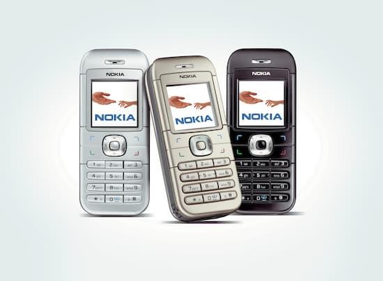 Мобильный телефон Nokia 6030 - все цвета.