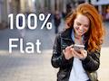 Smartphone-Tarife mit echter Internet-Flatrate