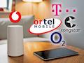 Bekannte Provider für LTE-Zuhause-Tarife