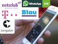 Kostenlose mobile Internet-Zugänge