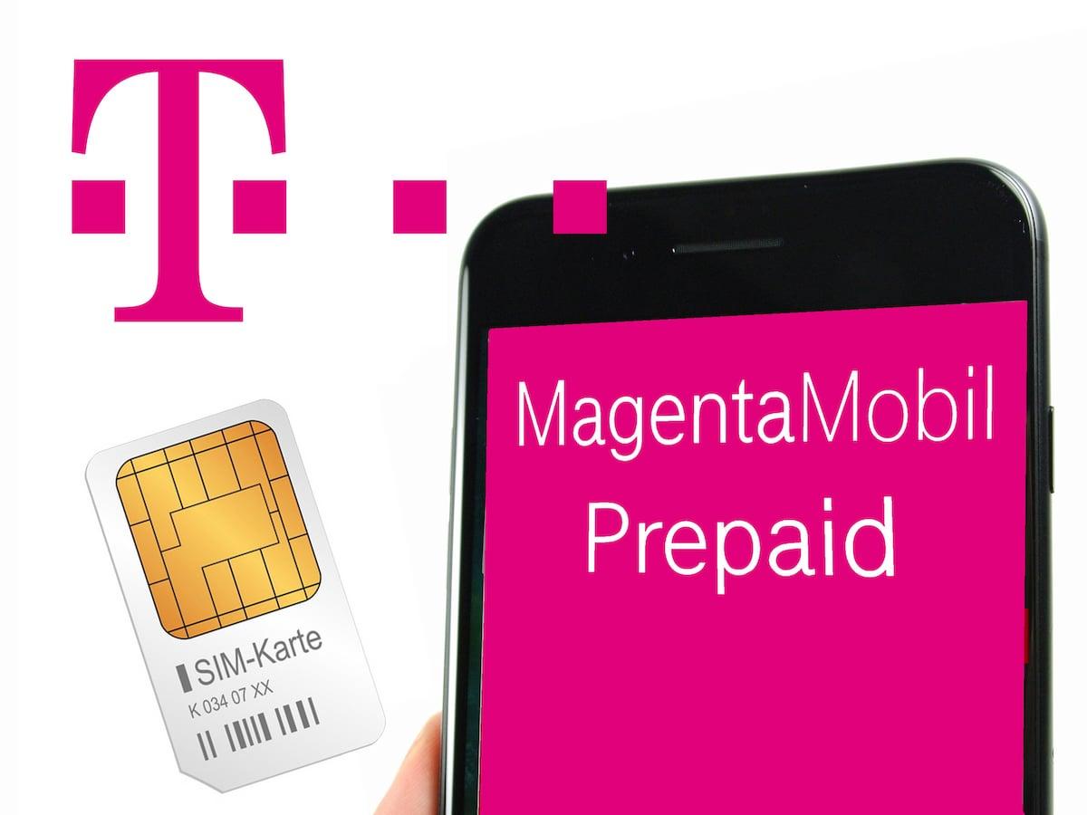 Telekom: So laden Sie Ihre Prepaid-SIM-Karte auf - teltarif ...