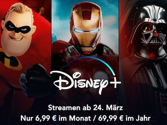 Disney+: Der Streaming-Dienst von Disney