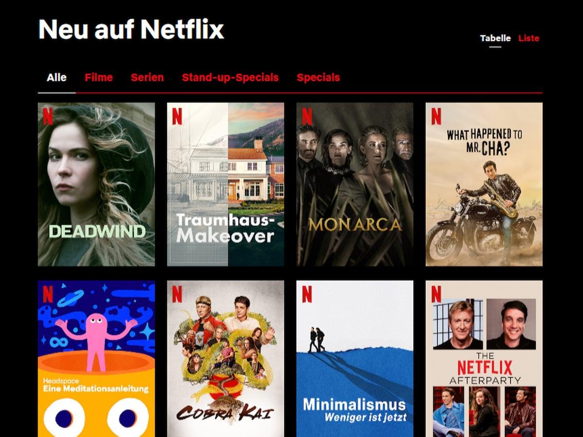 Netflix Anrufen