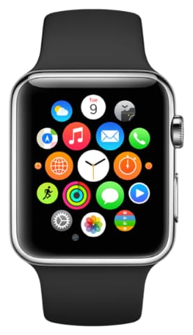 Apple Watch Homecreen