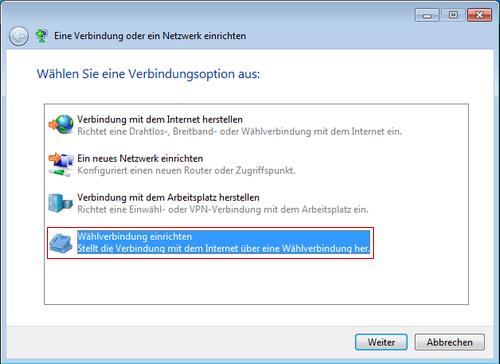 Internet By Call Unter Windows Vista 7 8 Und 10 Einrichten