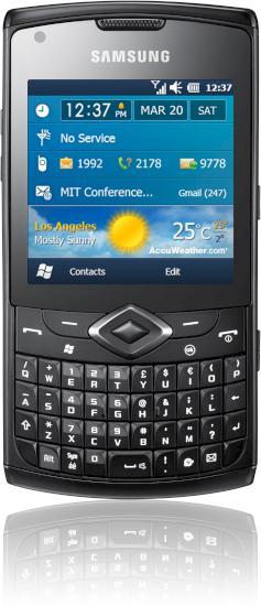 Samsung Omnia 735 in the Test