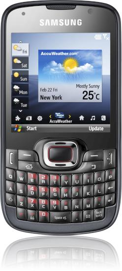 Samsung Omnia PRO B7330: Technische Daten, Test, News, Preise